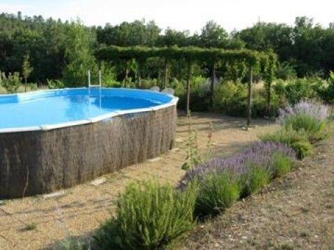 Chambre d 39 h tes vaucluse avec piscine 20 km manosque la balli re bnb grambois - Chambres d hotes drome avec piscine ...