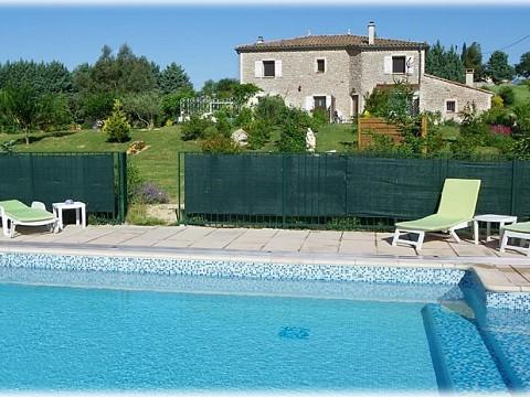 Gite Gard Avec Piscine Couverte Saint Ambroix Spa Gard