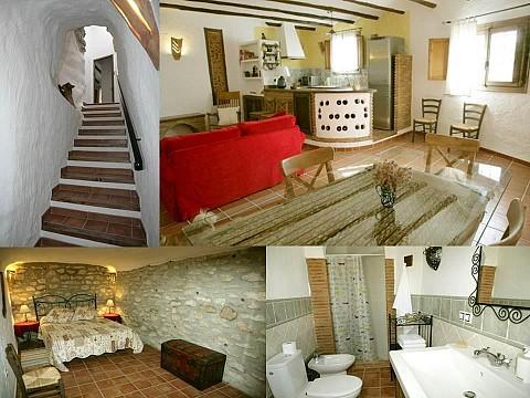 Gite troglodyte espagne andalousie grenade casas cueva for Casas modernas granada