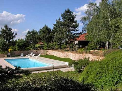 Chambres d 39 h tes ain avec piscine bnb montcet pr s de - Chambre d hotes en alsace avec piscine ...