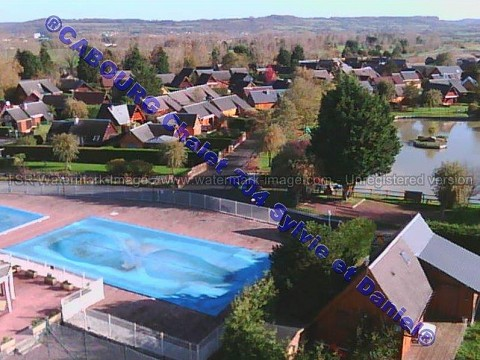 Location chalet calvados avec piscine cabourg normandie for Piscine cabourg