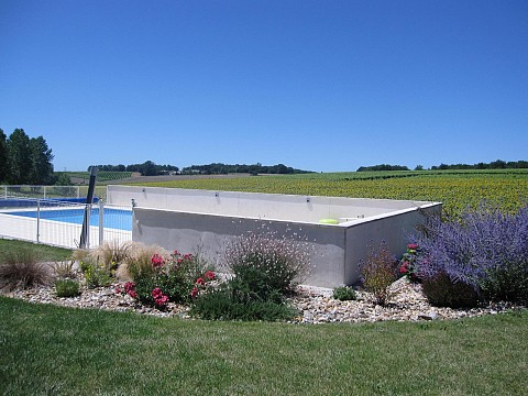 Location g te charente maritime avec piscine semoussac for Location maison avec piscine charente maritime
