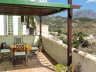 locations vacances Cottage Com. Valenciana Mountain à SELLA - Alicante