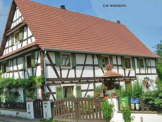 locations vacances Cottage Bas-Rhin Countryside à MERKWILLER-PECHELBRONN