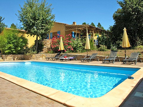 Chambres d 39 h tes avec piscine var bnb montauroux - Chambre d hotes var avec piscine ...