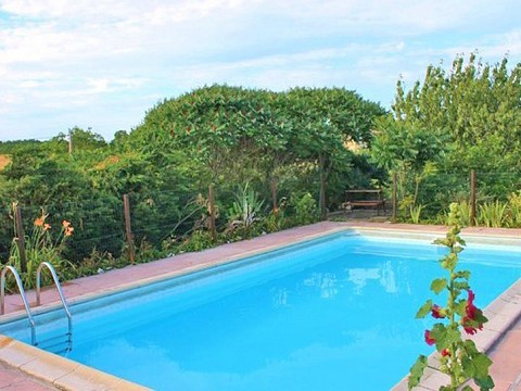 Villa 11 pers avec piscine sauna hammam en quercy lot for Piscine sauna hammam