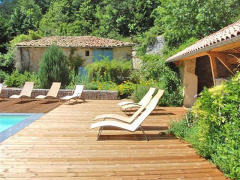 Chambres d 39 h tes dr me avec piscine le moulin de ravel - Chambre d hote drome provencale avec piscine ...