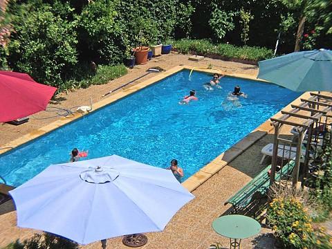 Chambres d 39 h tes avec piscine salses le ch teau bnb - Chambre d hote piscine bretagne ...