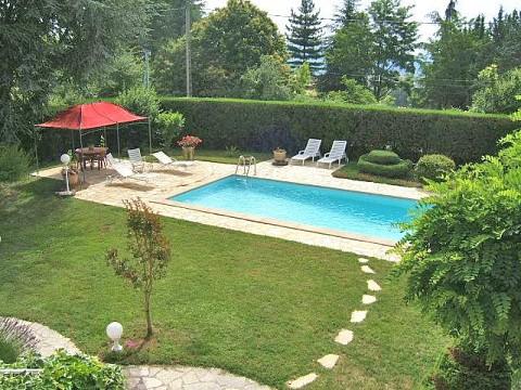 Chambre d 39 h tes aubenas bnb ard che avec piscine domaine de lazuel - Chambres d hotes drome avec piscine ...