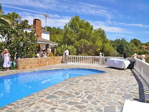 Location vacances espagne valencia maison de campagne - Maison avec piscine espagne ...