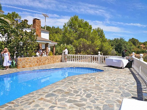location vacances espagne valencia maison de campagne avec piscine. Black Bedroom Furniture Sets. Home Design Ideas