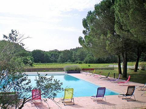 Location vacances ard che avec piscine ruoms proche for Location avec piscine ardeche