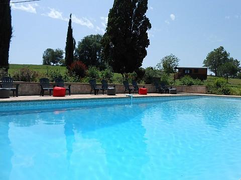 Chambres d 39 h tes lot et garonne avec piscine bnb saint salvy 24 km agen - Chambre d hote lot et garonne ...