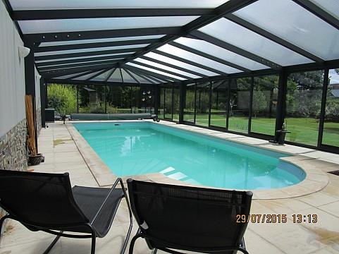 Chambres d 39 h tes nord avec piscine chauff e couverte bnb - Chambre d hote avec piscine chauffee ...