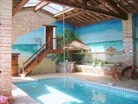 chambres d 39 h tes haute garonne jacuzzi et piscine 15 km toulouse au clos saint georges. Black Bedroom Furniture Sets. Home Design Ideas