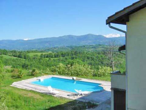 Grande villa avec piscine contrazy ari ge pyr n es for Location maison avec piscine en normandie