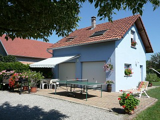 locations vacances Cottage Haut-Rhin Countryside à OBERHERGHEIM