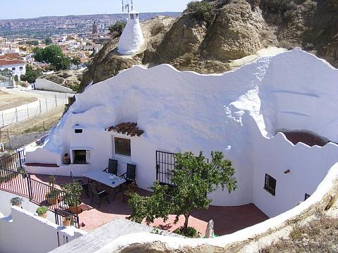 Gîte maison troglodyte insolite authentique wifi andalousie