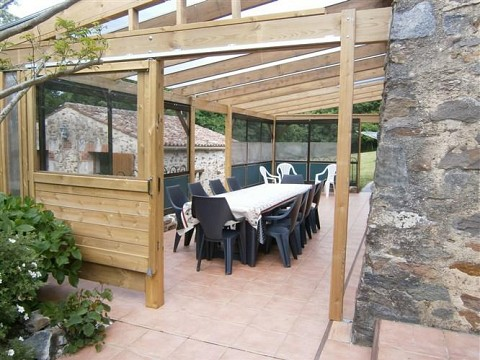 Location gite vend e spa jacuzzi avec piscine mareuil for Gite bretagne piscine couverte