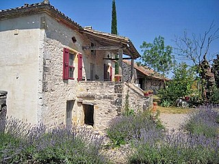 locations vacances Cottage Tarn-et-Garonne Countryside à SAINT-ANTONIN-NOBLE-VAL