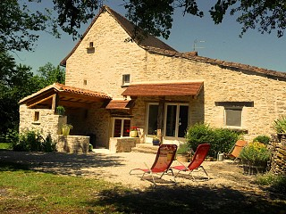 locations vacances Bed and breakfast Lot Countryside à LIMOGNE-EN-QUERCY