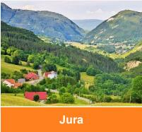 Holiday cottages Jura, bnb France